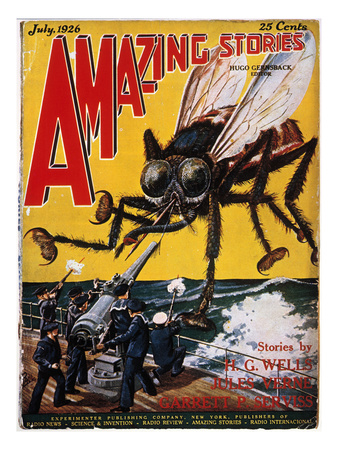 War Of The Worlds, 1927 Giclee Print by H.G. Wells