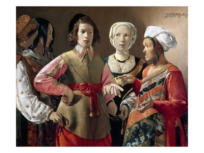 La Tour: Fortune Teller Giclee Print by Georges de La Tour