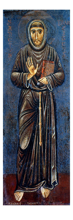 St. Francis Of Assisi Giclee Print by Margarito d'Arezzo