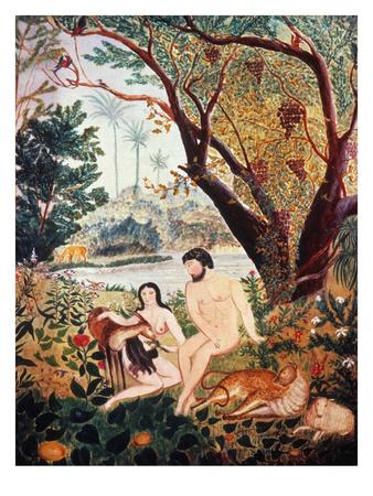 Adam & Eve Premium Giclee Print