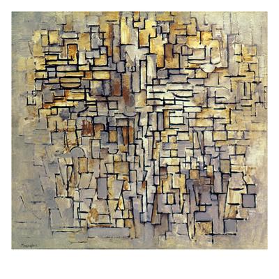 Mondrian: Composition, 1913 Giclee Print by Piet Mondrian