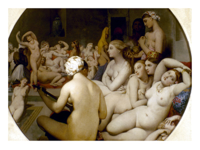 Ingres: Turkish Bath Giclee Print by Jean-Auguste-Dominique Ingres