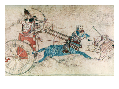 Assyrian King, 730 B.C Premium Giclee Print