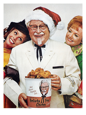 Kentucky Fried Chicken Ad Premium Giclee Print