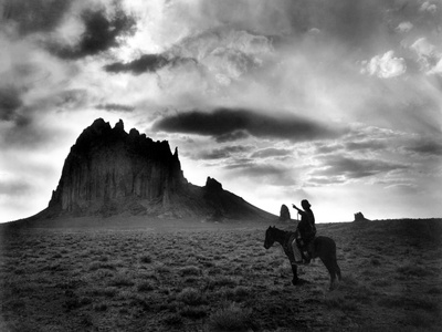 Navajo Man, C1915 Photographic Print by William Carpenter