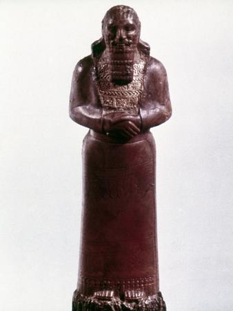 Assyrian Statue Photographic Print