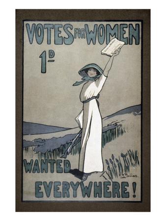 Women's Rights Premium Giclee Print