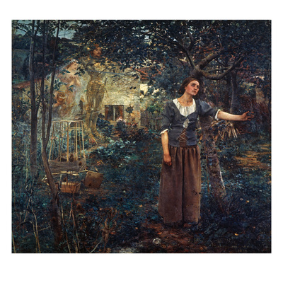 Joan Of Arc (C1412-1431) Giclee Print by Jules Bastien-Lepage