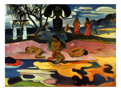 Gauguin: Day Of God, 1894 Premium Giclee Print by Paul Gauguin