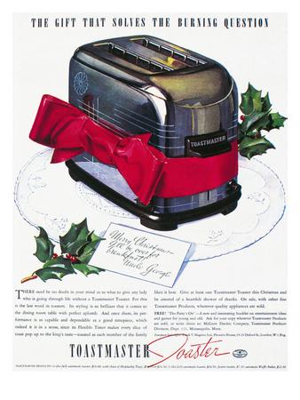 Toaster Ad, 1937 Premium Giclee Print