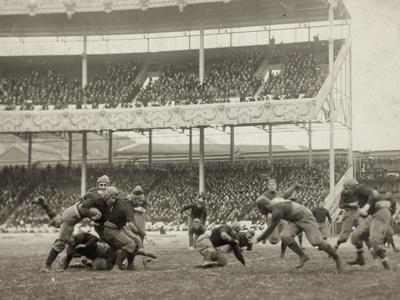 Football Game, 1916 Photographic Print