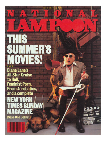 National Lampoon, June 1984 - This Summer's Movies! Lmina