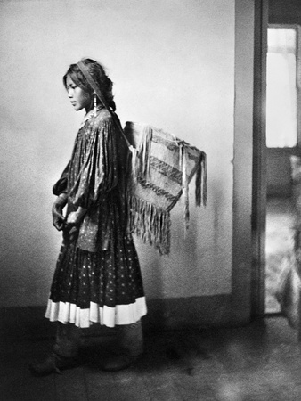 Apache Woman, C1902 Photographic Print by Carl Werntz
