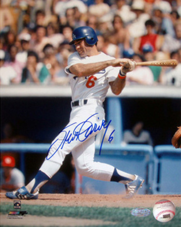 Steve Garvey Batting Vertical Photo