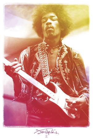Jimi Hendrix-Legendary Affiches