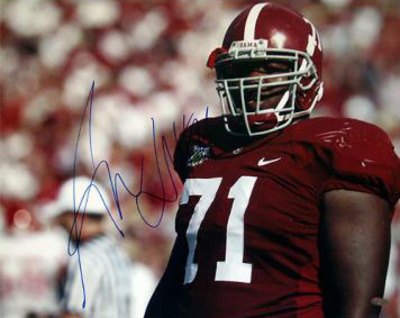 Andre Smith Alabama Close Up Photo