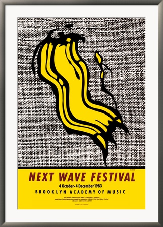 New Wave Festival Framed Art Print
