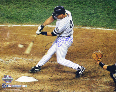 Tino Martinez 2001 WS Home Run Photo