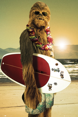 Star Wars-Surfs Up Plakat
