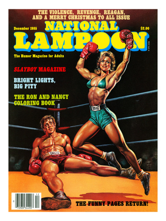 National Lampoon, September 1985 - Slayboy Magazine Prints
