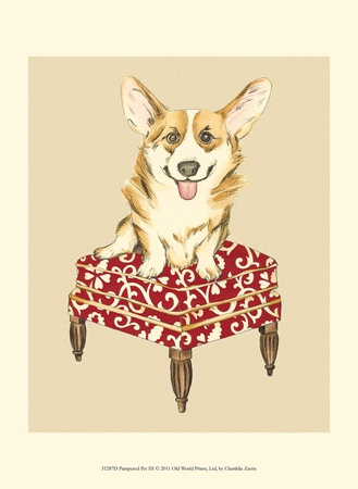 Pampered Pet III Poster by Chariklia Zarris