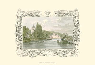 Bisham Abbey Print by William Tombleson