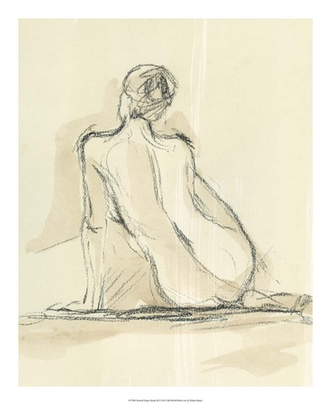 Neutral Figure Study III Art Print