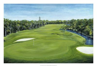 Island Golf Giclee Print