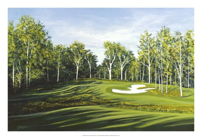 Afternoon Round Giclee Print