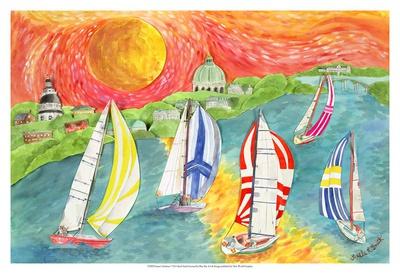 Sunset's Embrace Prints by Kaeli Smith
