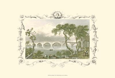 Kew Bridge Prints by William Tombleson