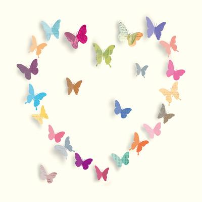 Butterfly Heart I Prints by Sasha Blake