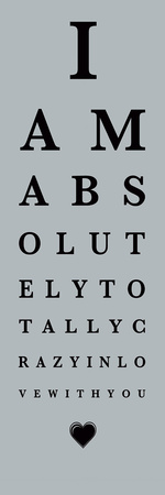 Eye Chart I Posters by  The Vintage Collection