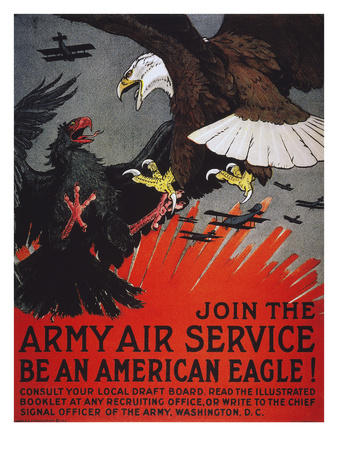World War I: Air Service Prints