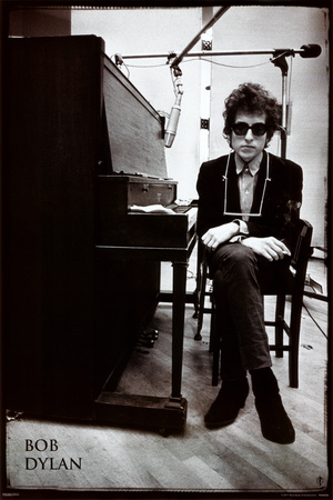 Bob Dylan - Klaver Plakat