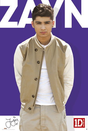 One Direction-Zayn-Colour Poster - at AllPosters.com.au