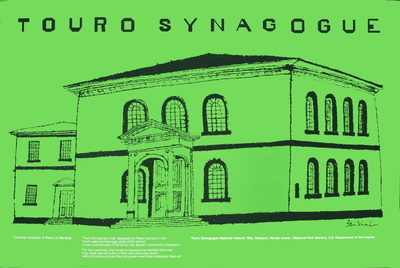 Touro Synagogue Prints by Ben Shahn