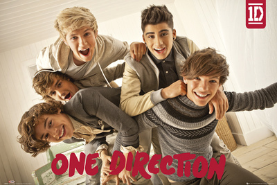 One Direction - Portrait de groupe Affiche