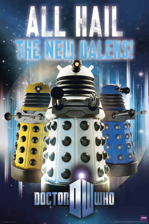 Doctor Who - All Hail the New Daleks poster