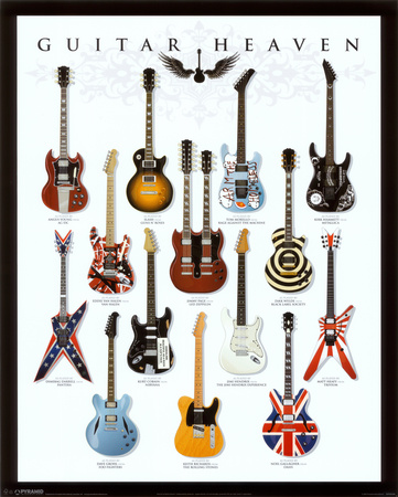 Guitar Heaven Minipster