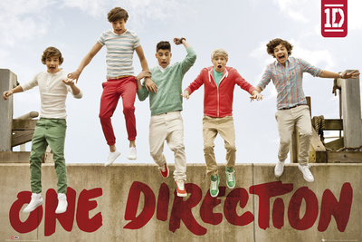 One Direction-Jumping Póster