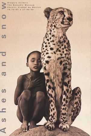Child with Cheetah, Santa Monica ポスター : グレゴリー・コルベール