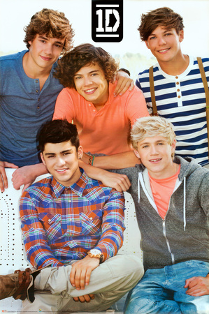 One Direction-Bench Pster