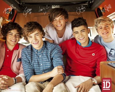 One direction - le single Mini-affiche