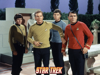 Star Trek: The Original Series, Captain Kirk, Scotty and Dr. McCoy in