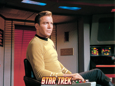 Star Trek: The Original Series, Captain James T. Kirk Premium Poster