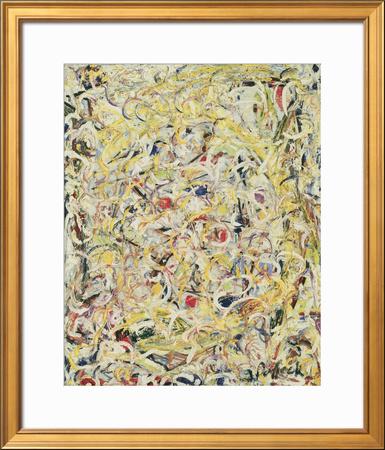 Shimmering Substance, c.1946 Art by Jackson Pollock
