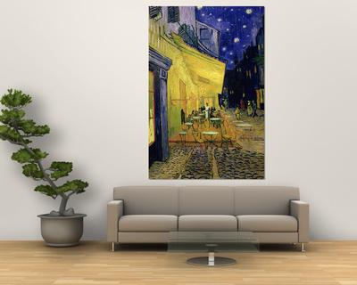 Cafe Terrace, Place Du Forum, Arles, 1888 Print by Vincent van Gogh