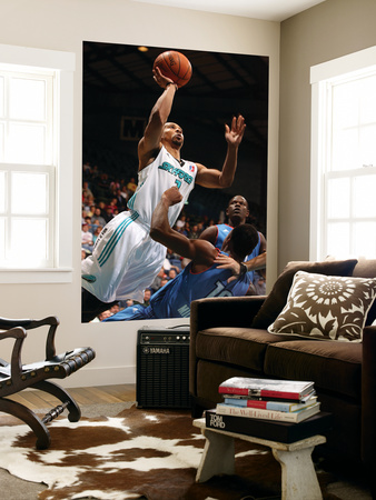 Tulsa 66ers v Sioux Falls Skyforce: Anthony Harris and Elijah Millsap Laminated Oversized Art