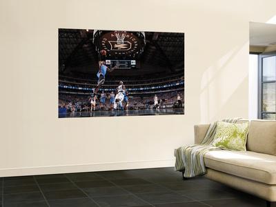 Oklahoma City Thunder v Dallas Mavericks - Game One, Dallas, TX - MAY 17: Russell Westbrook and Jas Plakat af Danny Bollinger